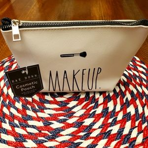 Rae Dunn cosmetic pouch- Makeup.
